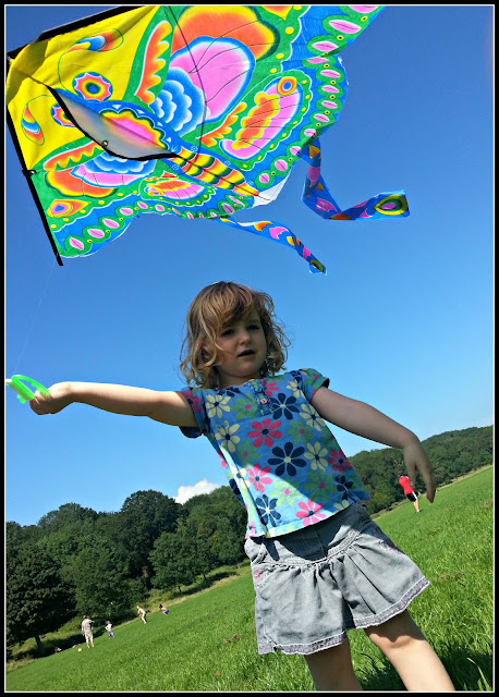 Kite flying for children