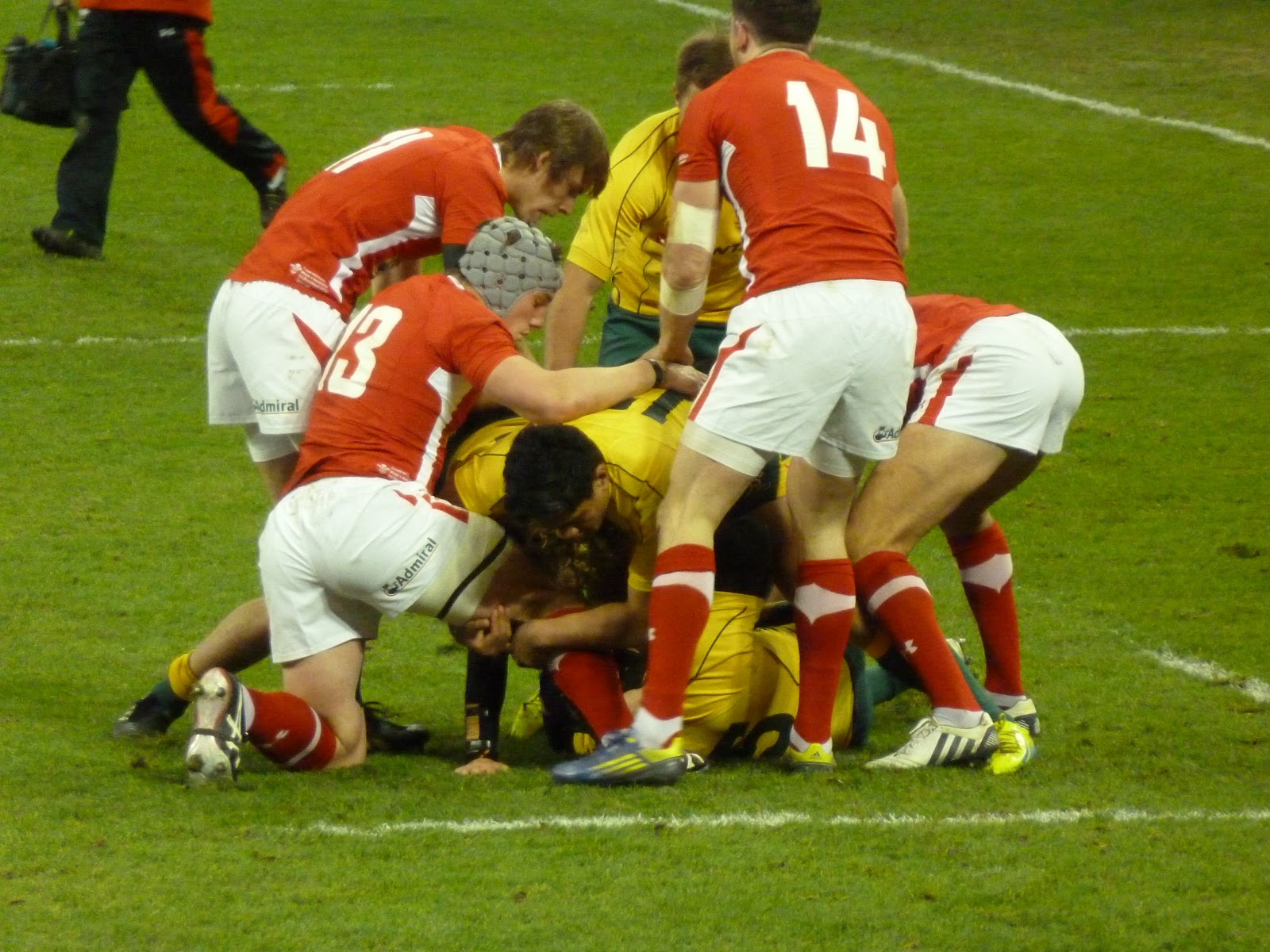 Wales v Australia 2012