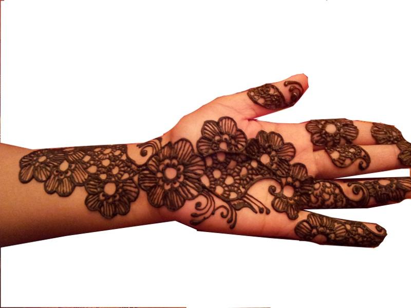 Mehndi Henna Paste Recipe : Henna curve