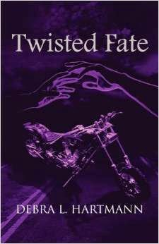 http://www.amazon.com/Twisted-Fate-Debra-L-Hartmann/dp/1630000663/ref=la_B00B1UAC7O_1_1?s=books&ie=UTF8&qid=1405381028&sr=1-1