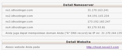 Details NameServer