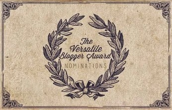The veratile blogger award