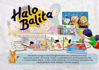 PAKET BUKU HALO BALITA | TOKO BUKU ONLINE SURABAYA