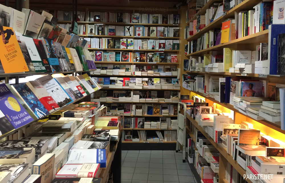 Photo intérieur librairie LGBT