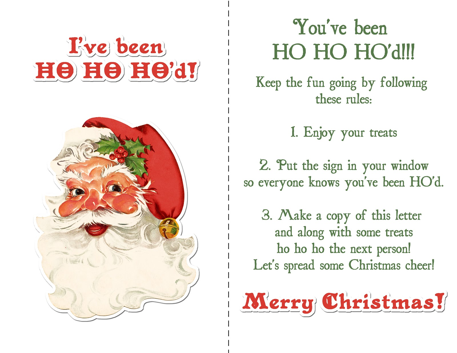 christmas cheer around and couldnt find a ive been ho ho hod sign so made this one up the santa element is from sahlin studios collab kit with - Santa Hohoho 2