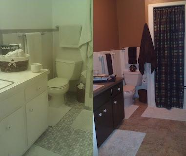 TheDailyMe Before And After Bathroom Reno