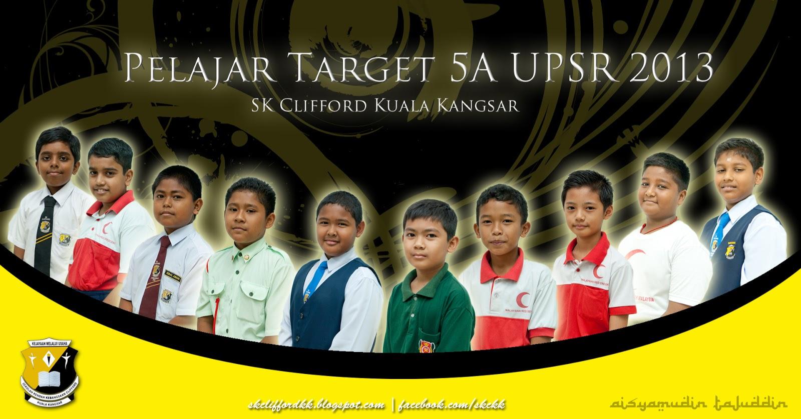 Pelajar Target 5A UPSR 2013