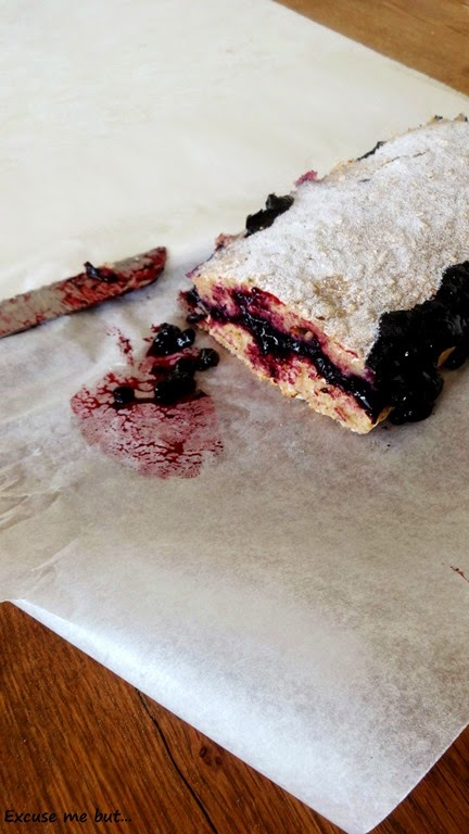 Veganer Heidelbeer Kuchen
