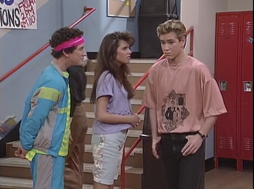 Nancy Valen Saved By The Bell