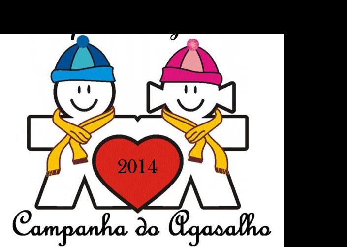Campanha do agasalho 2014.