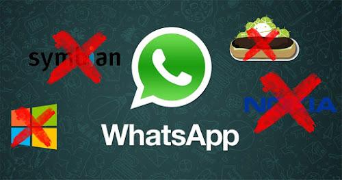 Whatsapp dará fim ao suporte para versões mais antigas
