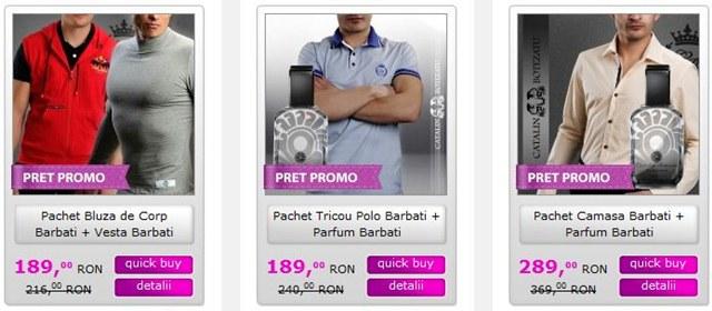Vedeti aici pachetele promotionale pentru barbati