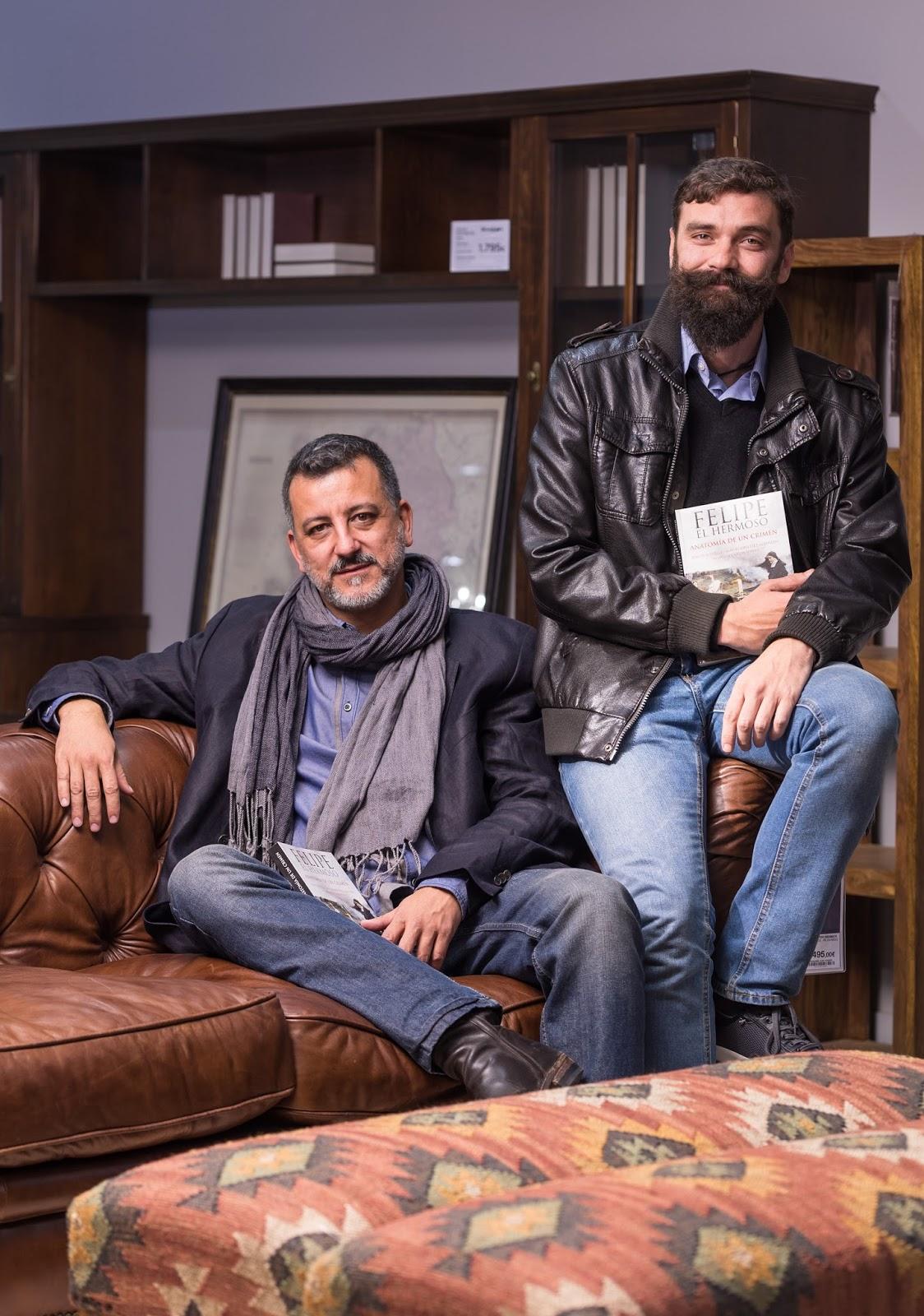 Lecturápolis: ENTREVISTA a DAVID BOTELLO y MAY RODRÍGUEZ (Felipe el ...