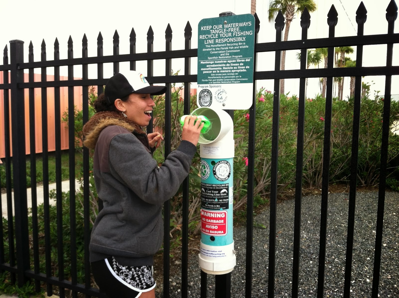 Florida's Monofilament Recycling Tubes