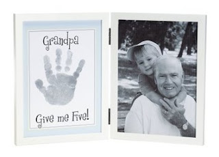 Grandpa &amp; Me Handprint Picture Frame
