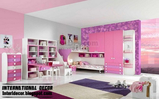 Interior Design 2014 Teen Girls Bedroom Romantic Ideas 2013