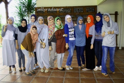 The Model of HijabersComm