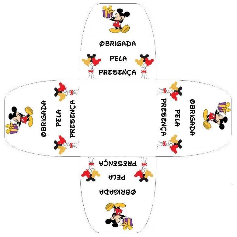 Moldes de forminhas do Mickey Mouse ~ BAÚ DE ARTES