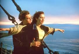 jumping from the ship,the ship name titanic