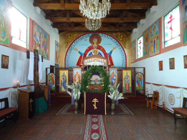 Iglesia en Puebla Mexico