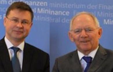 BATRÁQUIO-TERAPIA | O dia em que Schäuble e Dombrovskis engoliram um grande sapo
