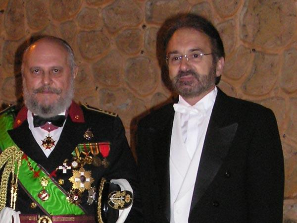 Nombramiento de caballero en el Alcazar de Segovia.