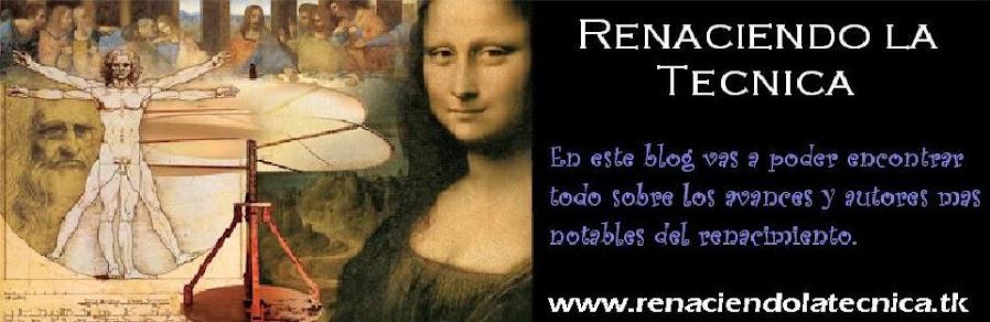 Avances científicos/tecnológicos en el Renacimiento