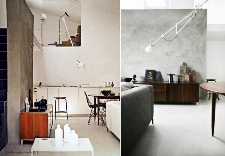 deko 133 flos 265. Black Bedroom Furniture Sets. Home Design Ideas