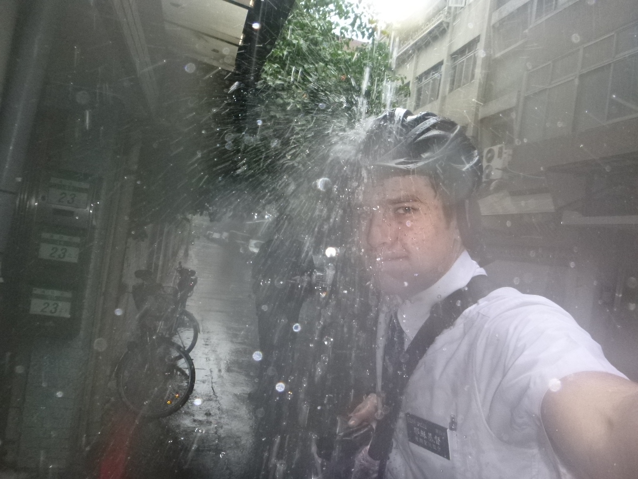 How to get drenched in the rain without falling sick images