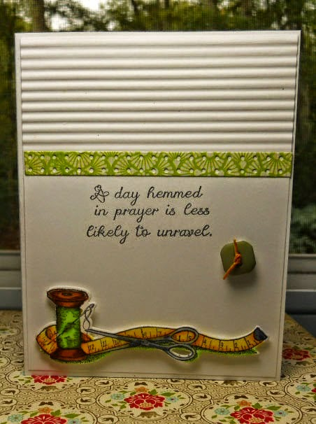 ODBD Spool & Tape, ODBD Custom Spool & Tape Die, ODBD Weave In Faith, Card Designer Becky Reed