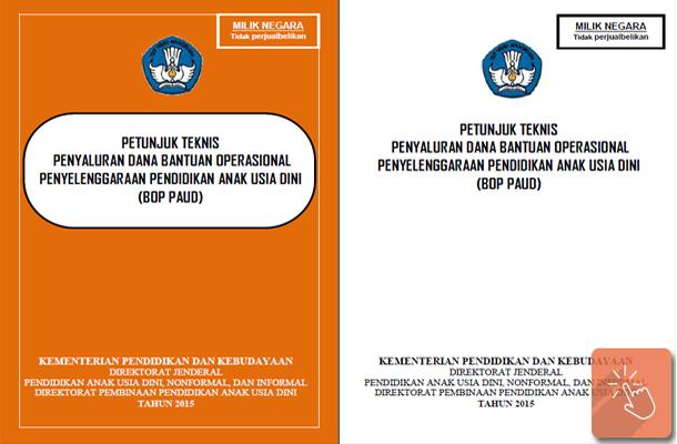 Juknis Bantuan Operasional Penyelenggaraan (BOP) PAUD 2015
