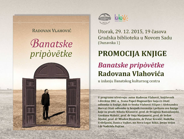 """Banatske pripòvētke"" Radovana Vlahovića"