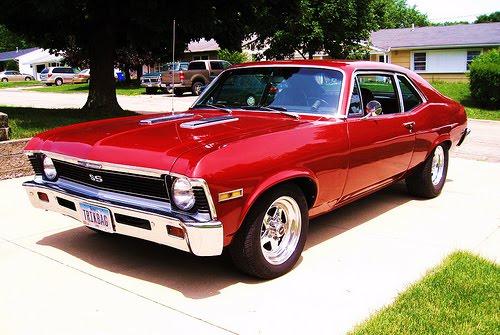 Chevrolet Nova Ss My 70 Nova Ss