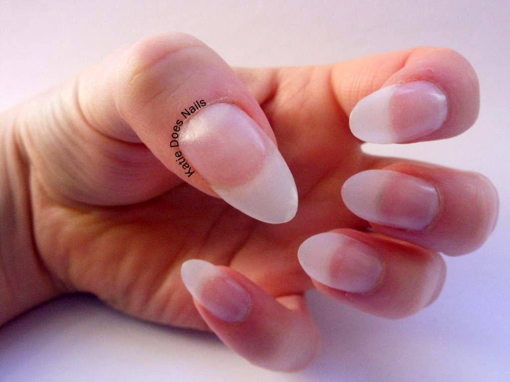 Almond acrylic nails | Nail Art and Tattoo Design Ideas for Fashion