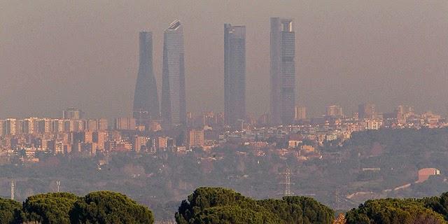 contaminación, madrid,