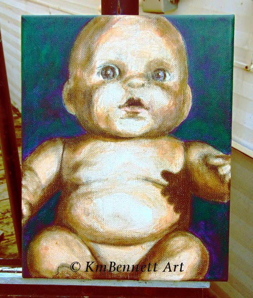 Painting: Baby Doll 01