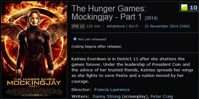 The Hunger Games: Catching Fire | Where to Stream and ...