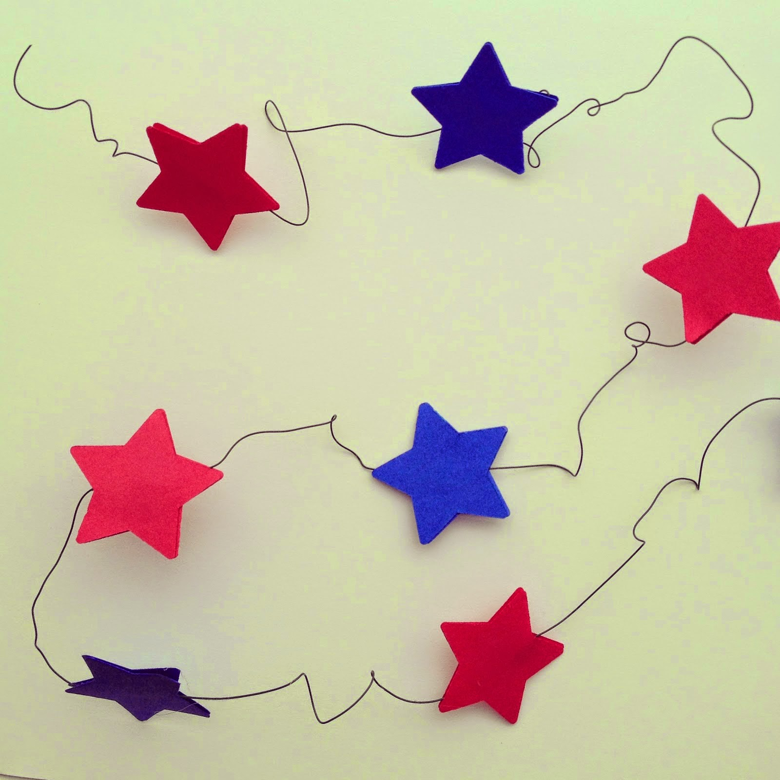 star garland diy