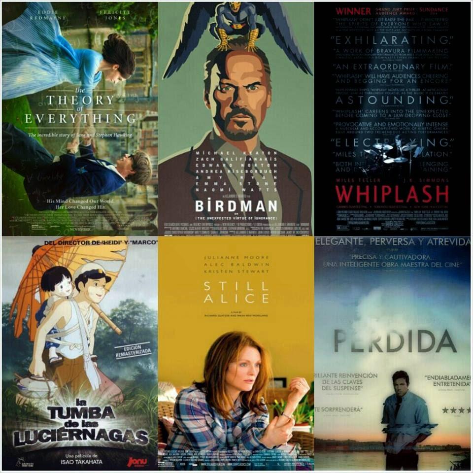 Atracón de películas