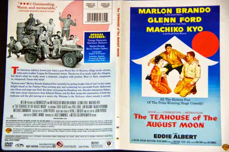 DVD cover, Teahouse of the August Moon