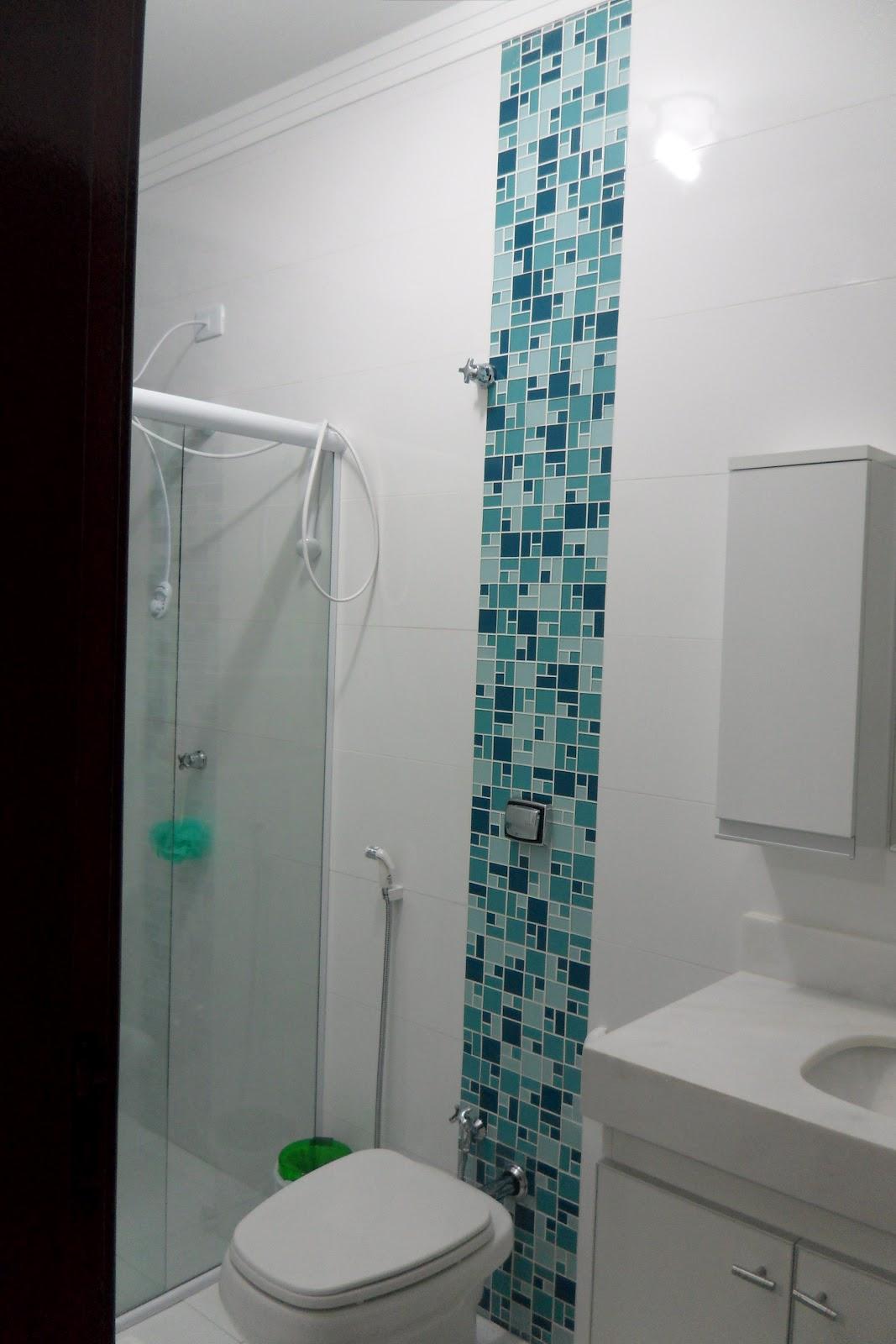 Opções de decorações para banheiros  Rafael Poyatos Projetos de Arquitetura -> Banheiro Com Pastilhas No Vaso