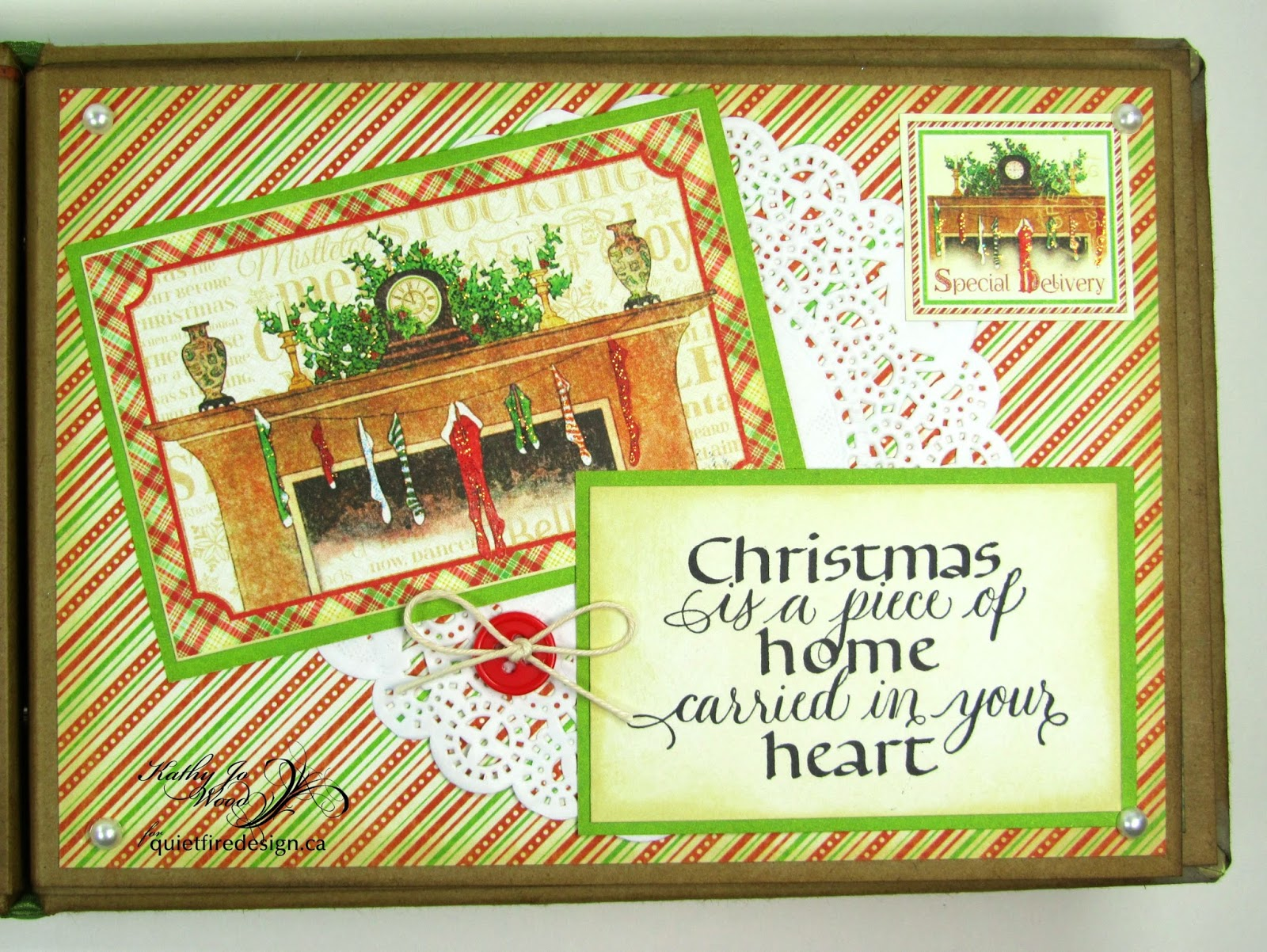 Quietfire creations a way with words merry christmas and the kristyandbryce Choice Image