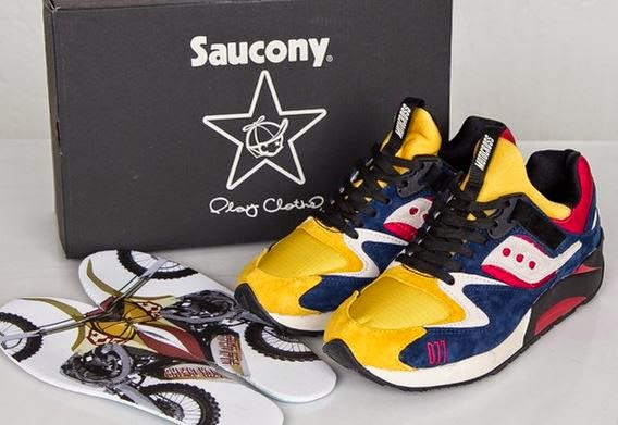 63270ee8dc68 Play Cloth x Saucony Grid 9000 Motorcross Sneaker Available Now (Detailed  Images)