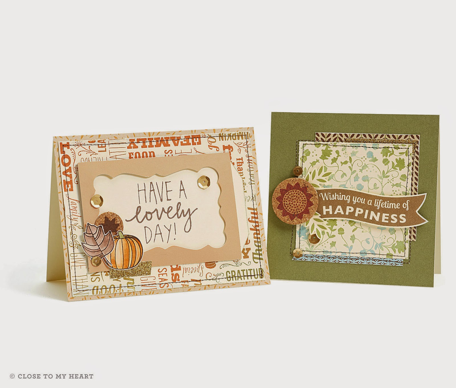 CTMH Fall Cards