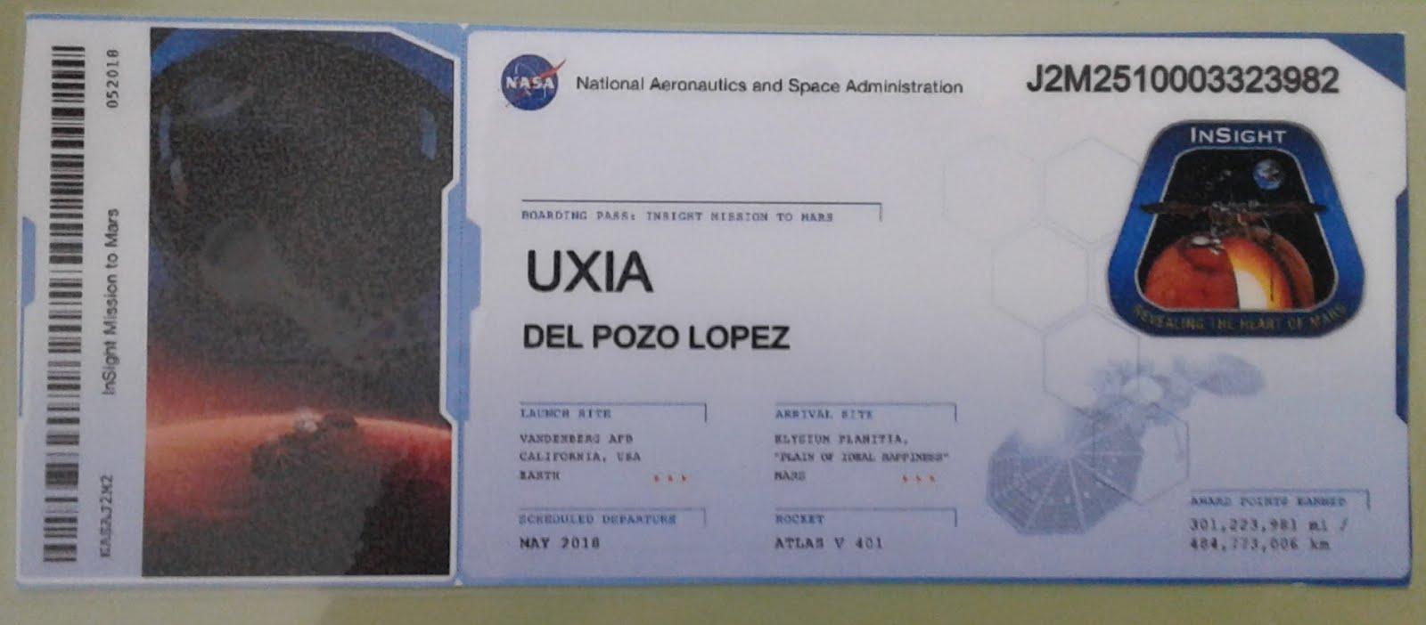 Ímonos a Marte, vides?
