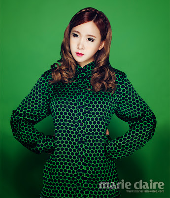 Crayon Pop - Marie Claire Magazine November Issue 2013