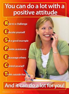 Positive attitude posters