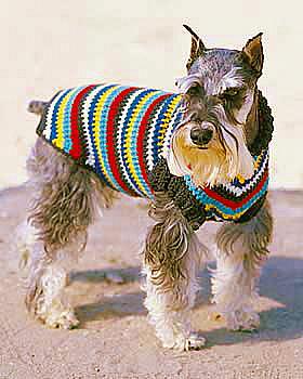Patterns: Free Patterns - 20+ Dog Sweater Coats to Knit & Crochet