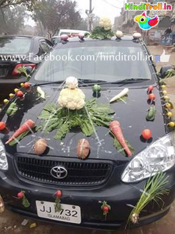Car Decoration Funny Style Picture |