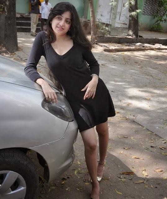 Poonam Kaur In Black Skirt